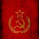 Soviet Union - CCCP - USSR - Russian - Cold War (Laurel Wreath) by James Ferguson - Darkinc1