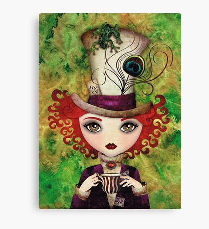 Lady Hatter Canvas Print