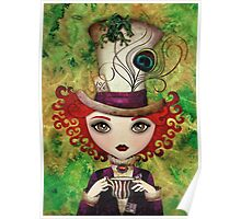 Lady Hatter Poster