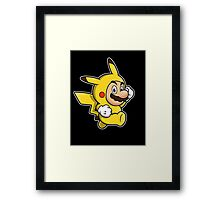 Pika Suit Framed Print