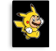 Pika Suit Canvas Print