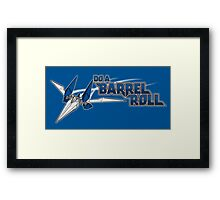 Do a Barrel Roll Framed Print
