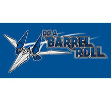 Do a Barrel Roll Photographic Print