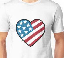 Heart Flag Unisex T-Shirt