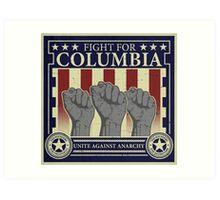Fight for Columbia Art Print