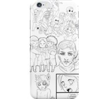 Hannibal sketches 2 iPhone Case/Skin