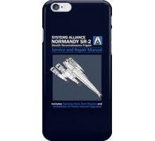 SR2 Service and Repair Manual iPhone Case/Skin