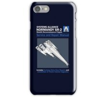 SR2 Service and Repair Manual iPhone Case/Skin