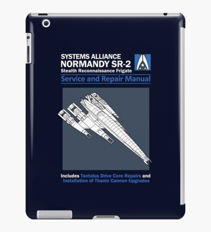 SR2 Service and Repair Manual iPad Case/Skin