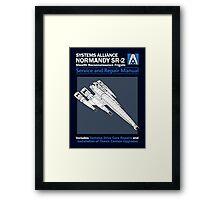 SR2 Service and Repair Manual Framed Print