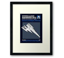 SR2 Service and Repair Manual Framed Print