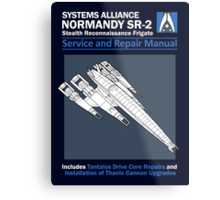 SR2 Service and Repair Manual Metal Print
