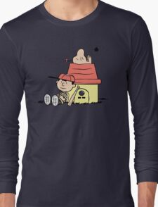 Earthbrown: A Boy and his Saturn Long Sleeve T-Shirt