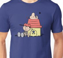 Earthbrown: A Boy and his Saturn Unisex T-Shirt