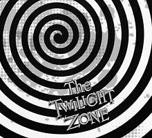 The Twilight Zone - Logo - iPad and Phone Case by James Ferguson - Darkinc1