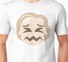 "Hillary ""The Emoji"" Clinton Sour Face Unisex T-Shirt"