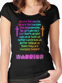 We are - Kesha Rose Sebert Women's Fitted Scoop T-Shirt