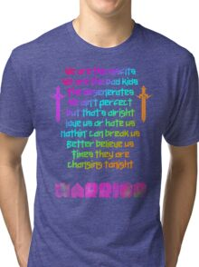 We are - Kesha Rose Sebert Tri-blend T-Shirt