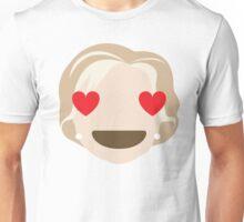 "Hillary ""The Emoji"" Clinton Heart and Love Eyes Unisex T-Shirt"
