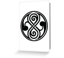 Seal of Rassilon / Seal of Gallifrey Greeting Card
