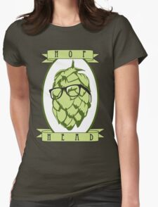 Hop Head Womens Fitted T-Shirt