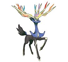 Xerneas - Pokemon Photographic Print