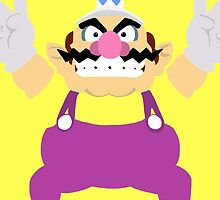 Wario- Super Mario Bros iPhone / iPad case by simplepete