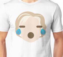 "Hillary ""The Emoji"" Clinton Teary Eyes and Sad Face Unisex T-Shirt"