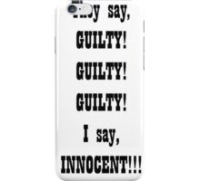 GUILTY, GUILTY iPhone Case/Skin