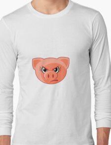Angry Pig  Long Sleeve T-Shirt