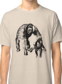 vector monkey Classic T-Shirt