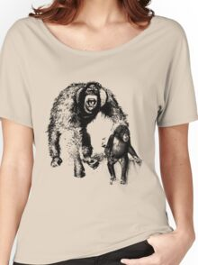 vector monkey Women's Relaxed Fit T-Shirt