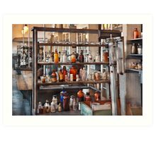 Chemist - Where science comes from Art Print