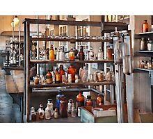 Chemist - Where science comes from Photographic Print
