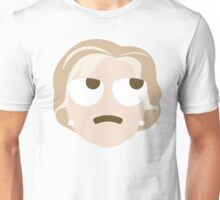 "Hillary ""The Emoji"" Clinton Thinking Hard and Hmm Face Unisex T-Shirt"