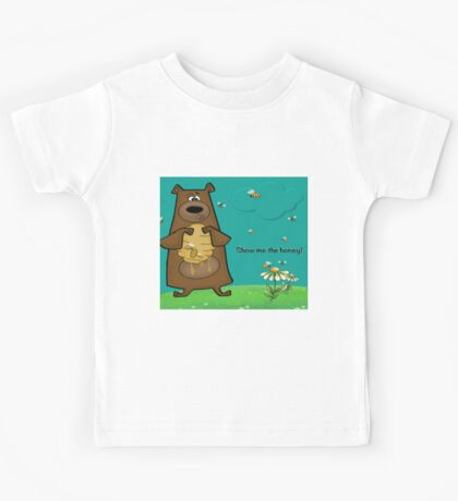 Show Me The Honey Kids Tee