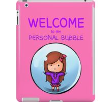 Personal Bubble - Female iPad Case/Skin