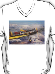 Flying Pig - Plane -The joy ride T-Shirt