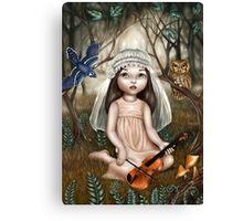 Forest Bride Canvas Print