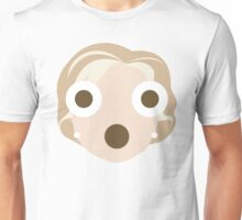 """Hillary """"The Emoji"""" Clinton Shocked and Surprised Look Unisex T-Shirt"""
