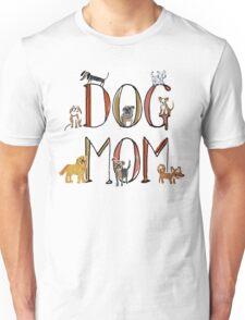 Dog mom xmas shirt Unisex T-Shirt