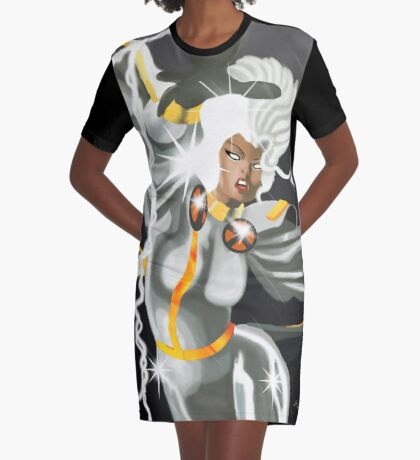 A Storm is Coming  Graphic T-Shirt Dress