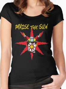 Praise the sun 2 Women's Fitted Scoop T-Shirt