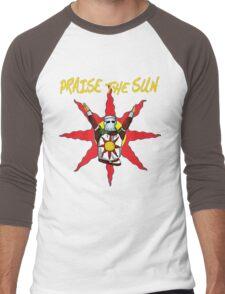 Praise the sun 2 Men's Baseball ¾ T-Shirt