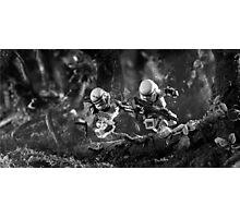 Run like hell Photographic Print