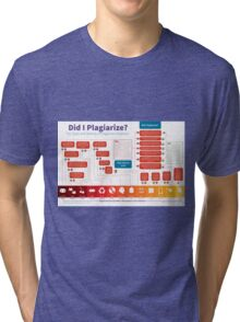 Did I Plagiarize? Tri-blend T-Shirt