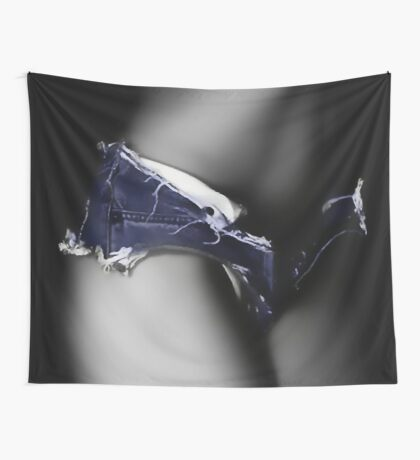Sexy jeans shorts Wall Tapestry