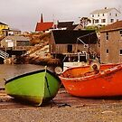 Peggy's Cove - Nova Scotia by John Butler