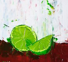 Zesting a Lime by ebuchmann