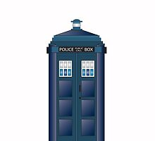 Doctor Who Tardis UK POLICE PHONE BOX by TOM HILL - Designer